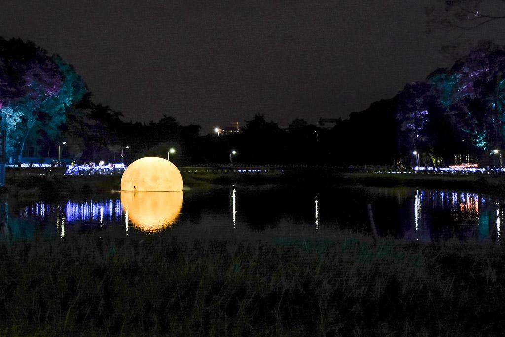 光織影舞, 嘉義景點, 嘉義中秋節, 嘉義燈光節, 2020嘉義市光織影舞, 北香湖公園