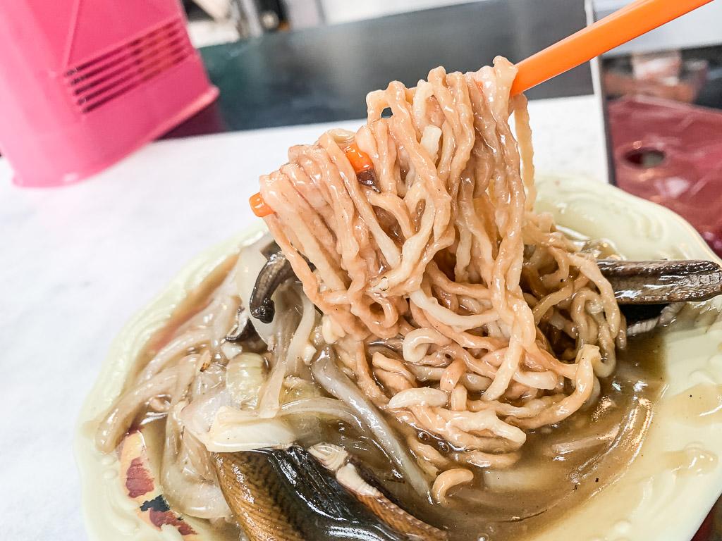 馬沙炒鱔魚, 台南鱔魚意麵,大火快炒的鑊氣,羹湯的酸甜滋味,一口接一口的府城美食!