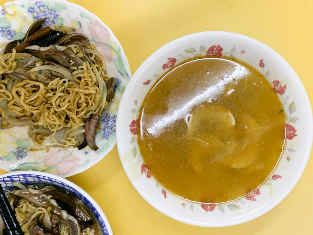 志明炒鱔魚, 東區鱔魚意麵, 東區腰只湯, 櫛名炒鱔魚意麵, 台南鱔魚意麵, 台南小吃