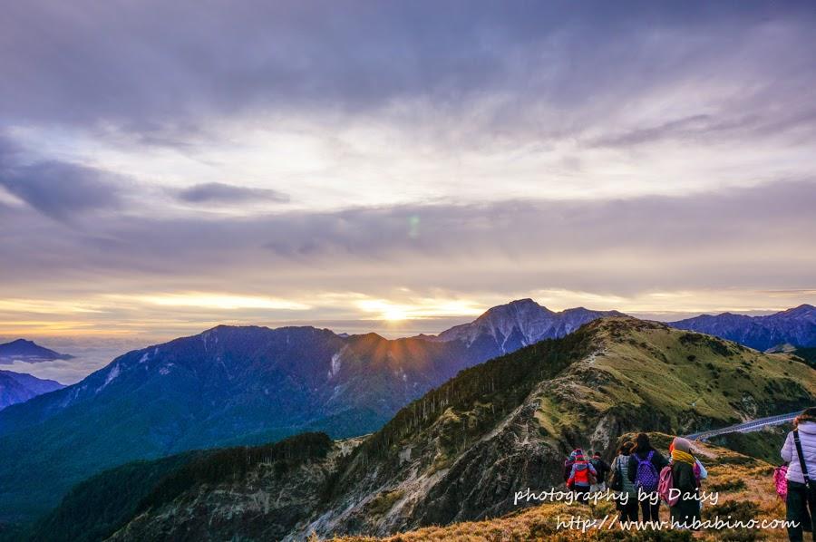 合歡山, 石門山, 武陵農場, 合歡山日出, 清境雲海, 清境賞星星