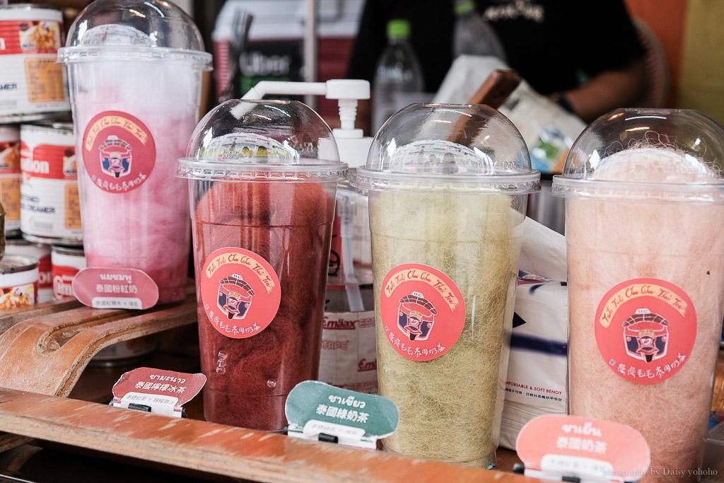 龜龜毛毛泰國奶茶, 手標紅茶, 煉乳紅茶, 手標綠奶茶, 檸檬冰茶, 國華街飲料店, 台南特色飲料