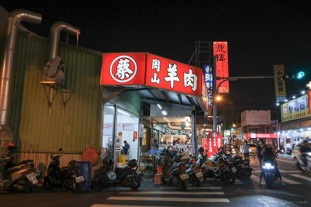 蔡岡山羊肉, 台南羊肉, 台南美食, 台南東區美食, 崇德路羊肉, 菜岡山羊肉菜單, 當歸羊肉湯