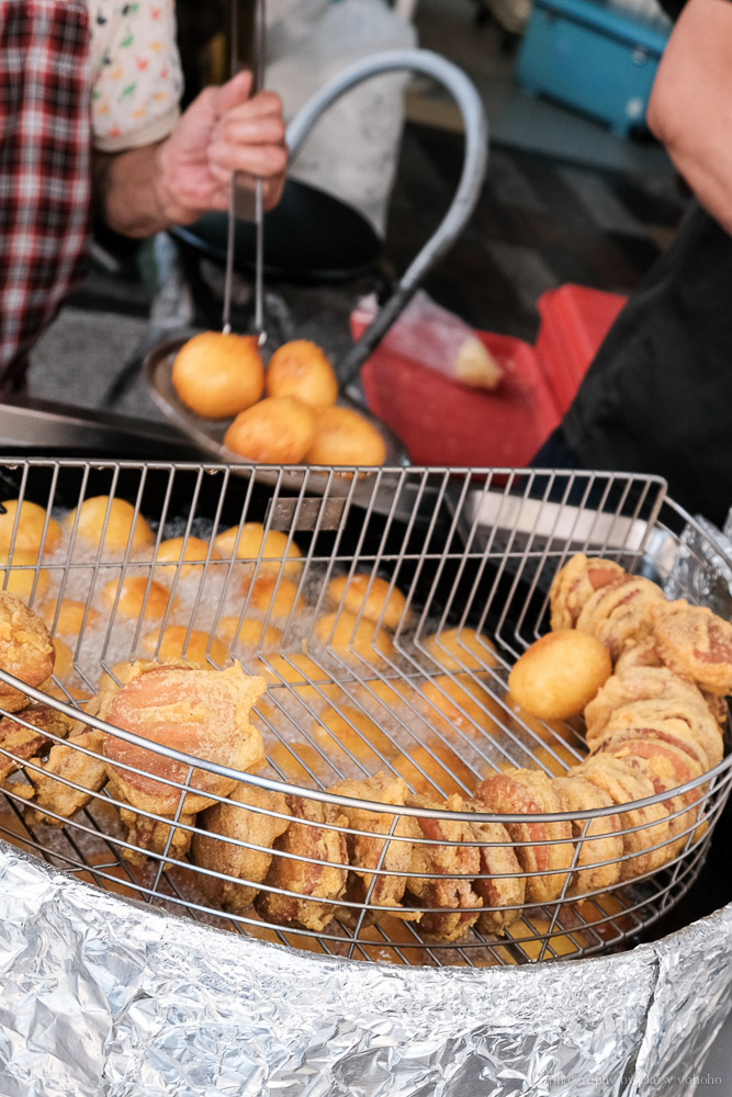 林家白糖糕, 國華街美食, 台南小吃, 台南古早味, 蕃薯椪, 芋頭餅, 友愛街美食, 台南白糖粿, 古早味點心