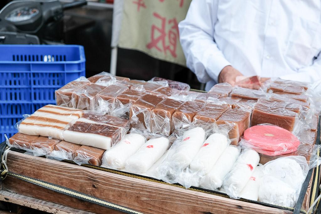 國華街麻糬紅豆, 摩托車麻糬, 古早味甜點, 台南古早味小吃, 紅豆麻糬, 阿伯麻糬
