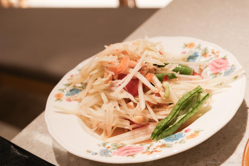 頌丹樂, 台北微風車站美食, Somtum Der, 台北米其林一星, 泰國東北料理, 平價米其林餐廳, 頌丹樂泰式料理, 台北車站美食