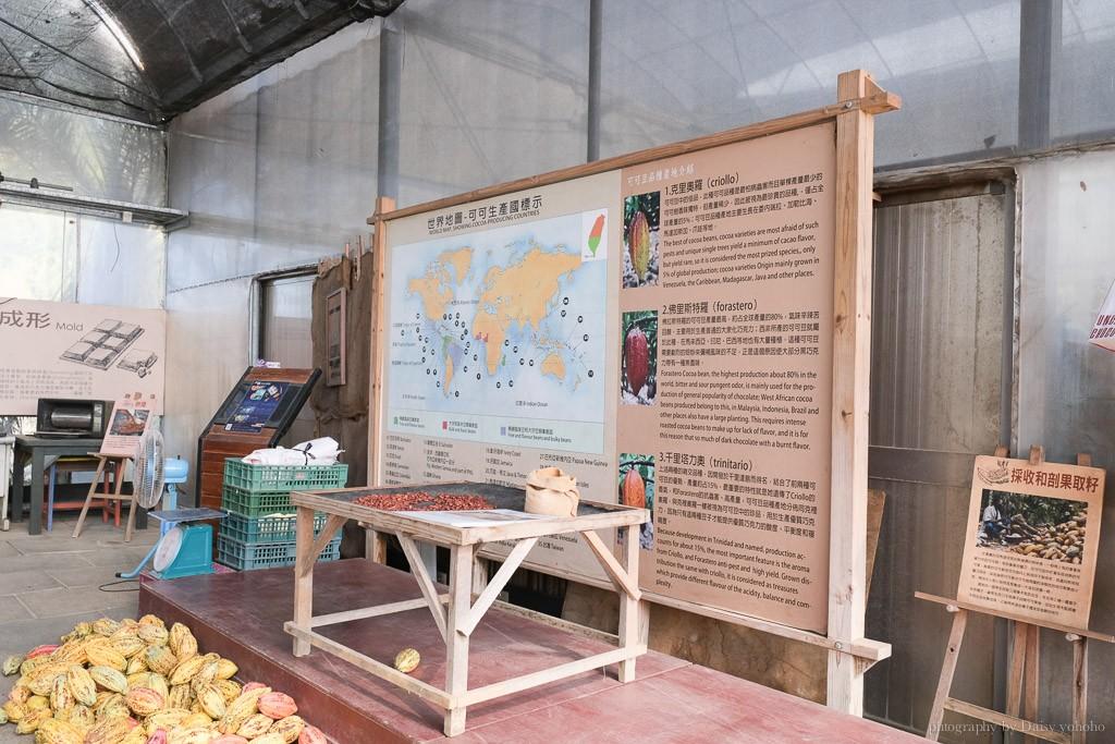 阿信巧克力農場, 夜探梅花鹿, 餵食梅花鹿, 可可生態導覽, 巧克力DIY, 恆春景點, 悠活度假村景點, 屏東巧克力工廠