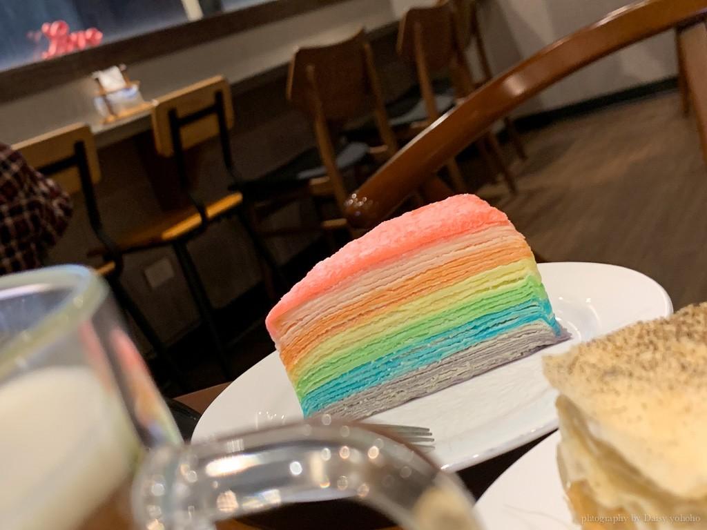 藏咖啡, 嘉義咖啡館, 藏咖啡中山店, 嘉義千層蛋糕, 彩虹千層蛋糕, 藏咖啡菜單