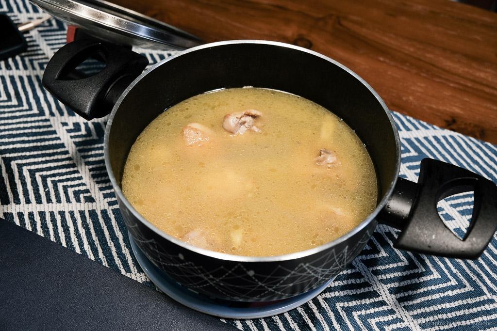 義廚寶, 阿基師鍋, Gusto Casa, 雙耳湯鍋, 蒜頭雞湯做法, 義廚寶鍋具, 不沾鍋, 阿基師食譜