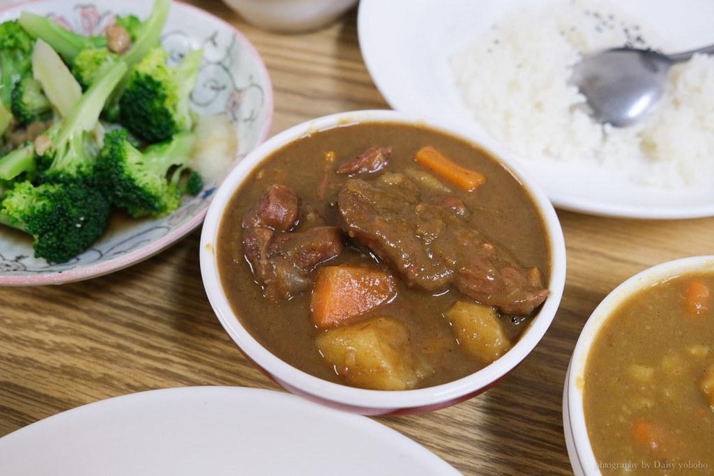 老騎士咖哩飯專門店, 台南小吃, 中西區咖哩, 台南平價咖哩, 老騎士菜單, 台南中西區美食, 白飯吃到飽