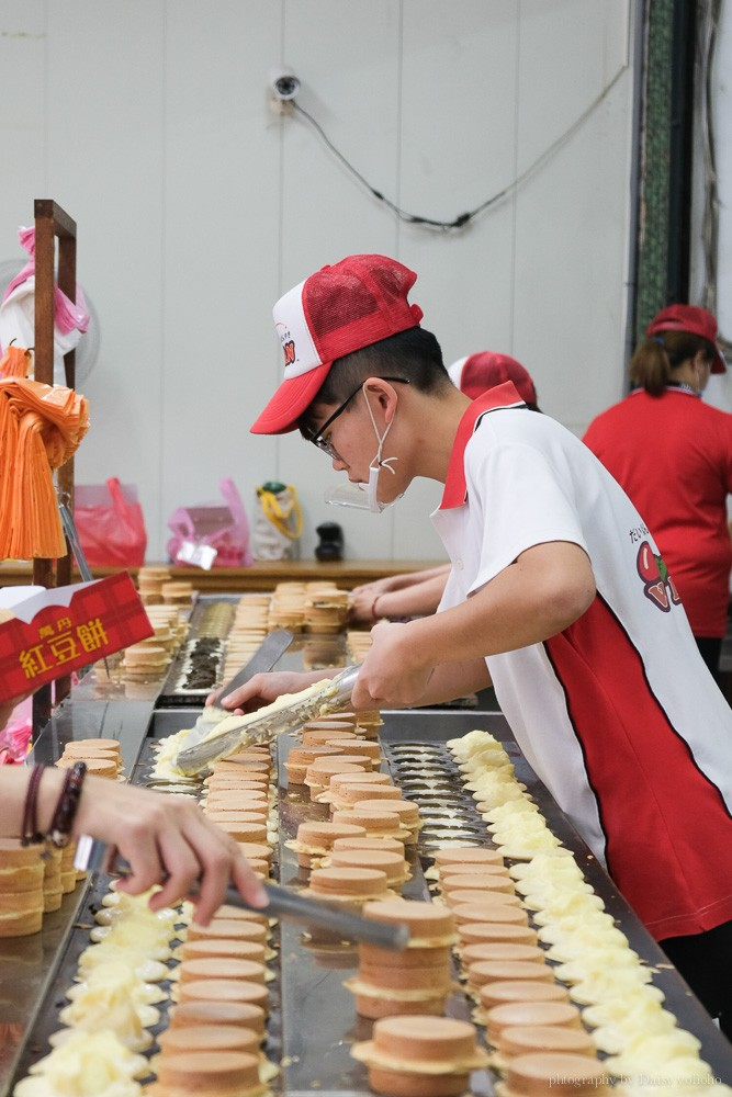萬丹紅豆餅推薦, 黃萬丹紅豆餅, 萬丹紅豆排隊, 萬丹紅豆餅口味, 萬丹美食, 萬丹小吃, 萬丹紅豆餅電話預訂