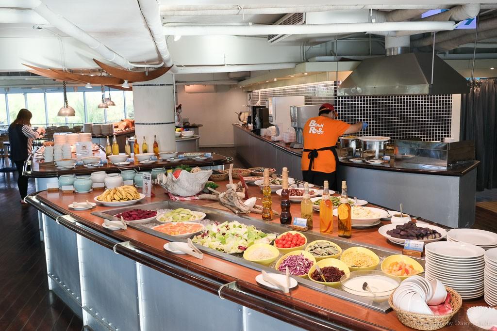 悠活度假村, 悠活度假村設施, 墾丁悠活臨海餐廳, 悠活早餐, 自然醒 buffet