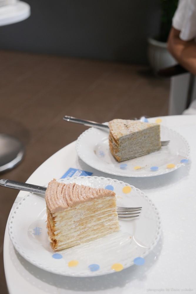 深藍咖啡館, 深藍咖啡館千層蛋糕價格, 深藍咖啡館訂位, 深藍咖啡館本店, 千層蛋糕界的LV, 台南千層蛋糕, deepblue, 深藍千層推薦
