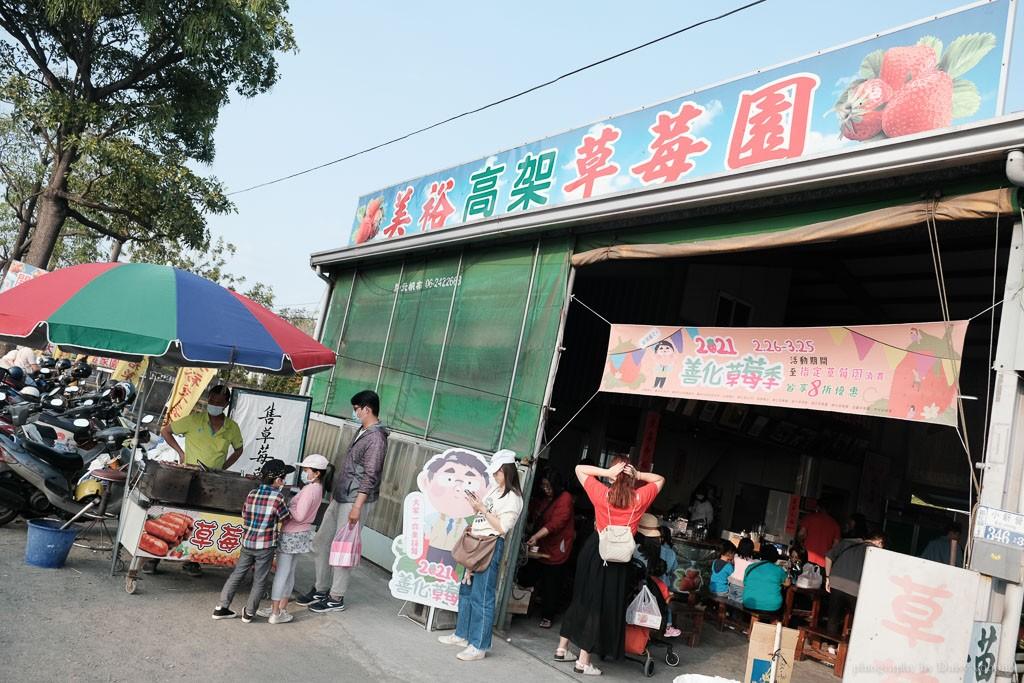 台南草莓季, 美裕草莓園, 善化景點, 台南採草莓, 善化草莓, 高架草莓, 草莓冰淇淋, 草莓冰淇淋, 草莓香腸