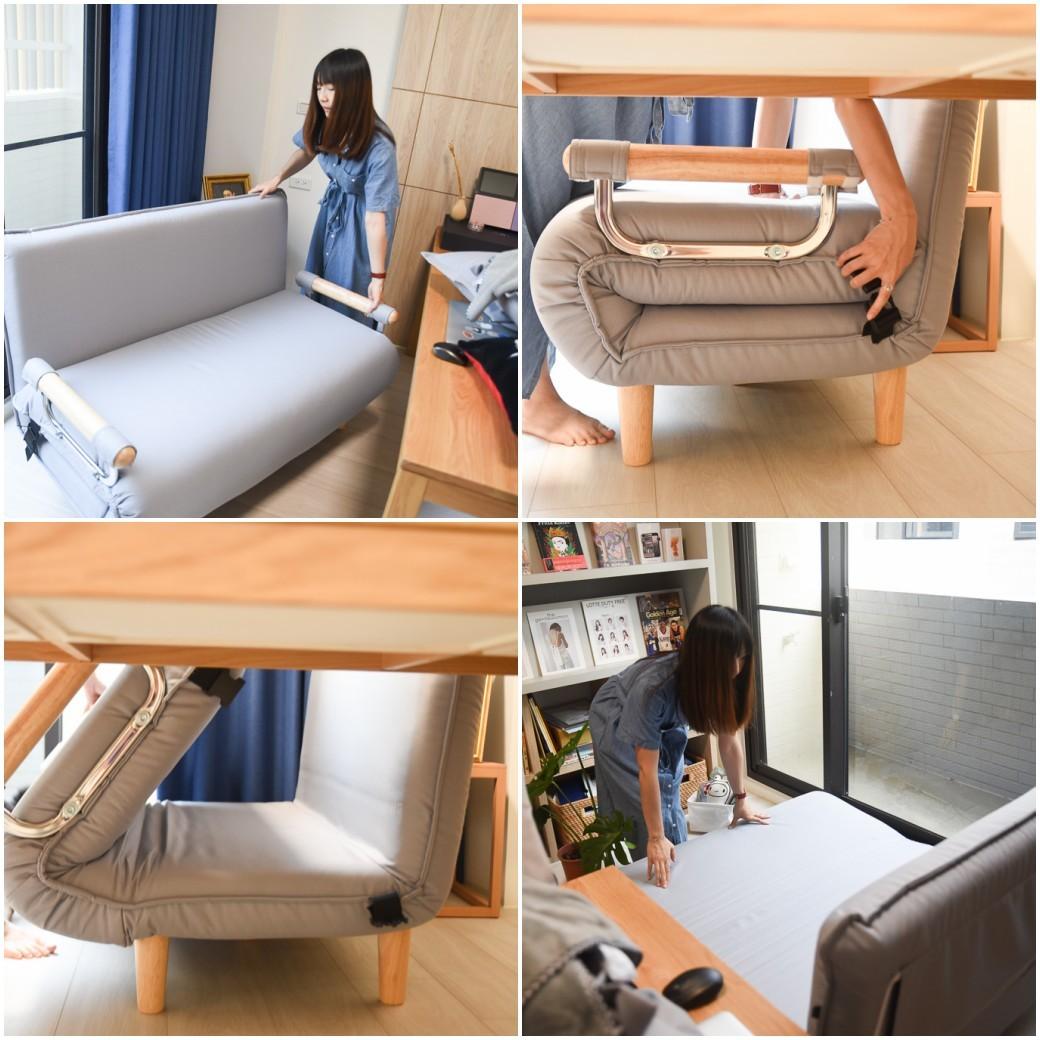 aj2沙發床, 北歐風沙發床推薦, 小坪數沙發, 套房沙發, 雙人座沙發床, aj2愛家概念, 好睡的沙發床