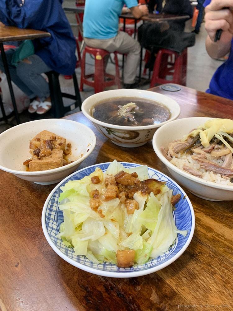 鳳姐鴨腿飯, 台南中西區美食, 台南鴨腿飯, 鳳姐鴨肉飯菜單, 台南鴨肉飯, 台南下水湯
