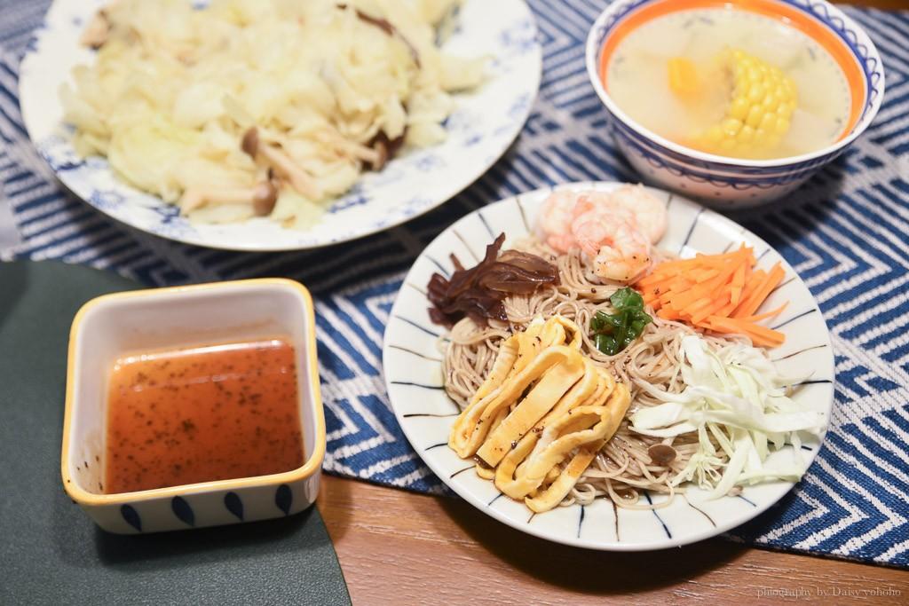 憶霖, 憶霖調味料, 調味料推薦, 日式蕎麥涼麵, 柚香和風醬, 憶霖醬料
