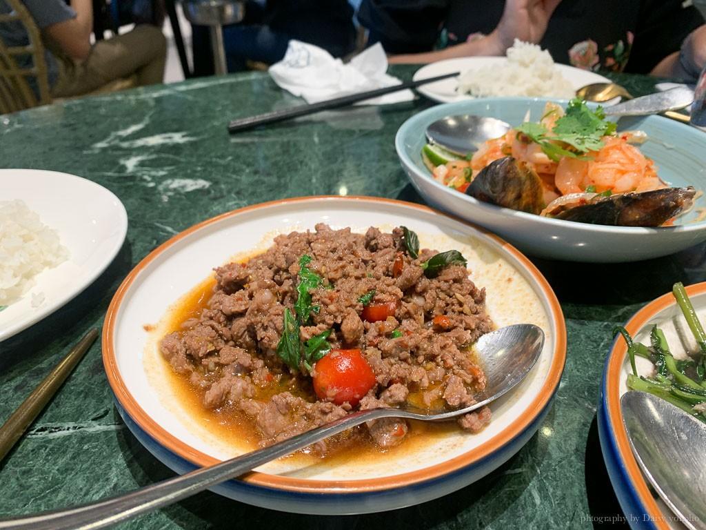Siam siam泰式料理, 南紡購物中心美食, 台南泰式料理, 台南壽星優惠, 南紡泰式餐廳