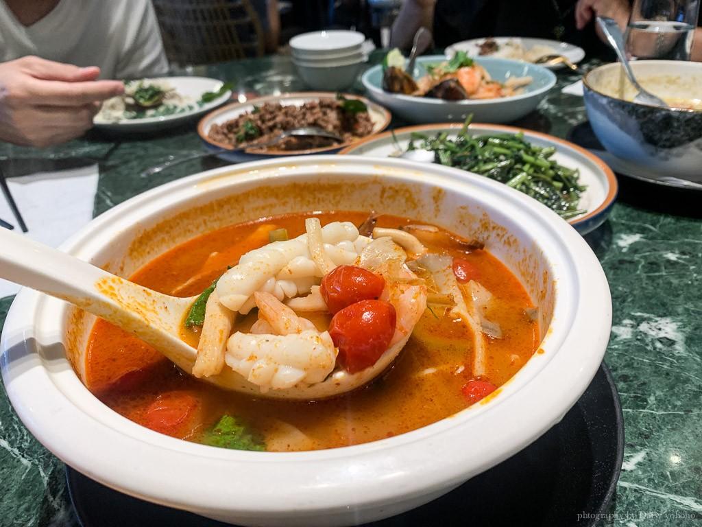 Siam siam 泰式料理, 南紡購物中心美食, 台南泰式料理, 台南壽星優惠, 南紡泰式餐廳