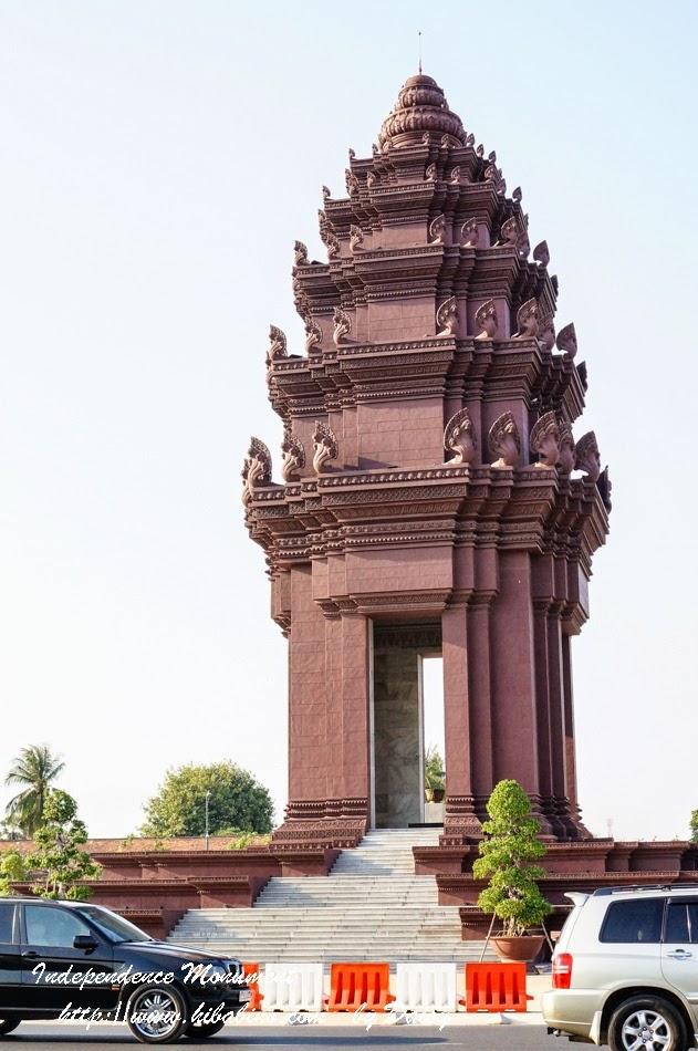 柬埔寨獨立紀念碑, 柬埔寨景點, 金邊獨立紀念碑, 金邊景點, 金邊旅遊, 獨立廣場
