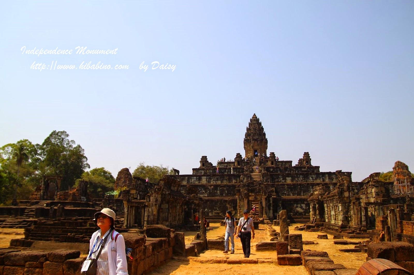 柬埔寨獨立紀念碑, 柬埔寨景點, 金邊圓環獨立紀念碑, 金邊景點, 金邊旅遊, 獨立廣場
