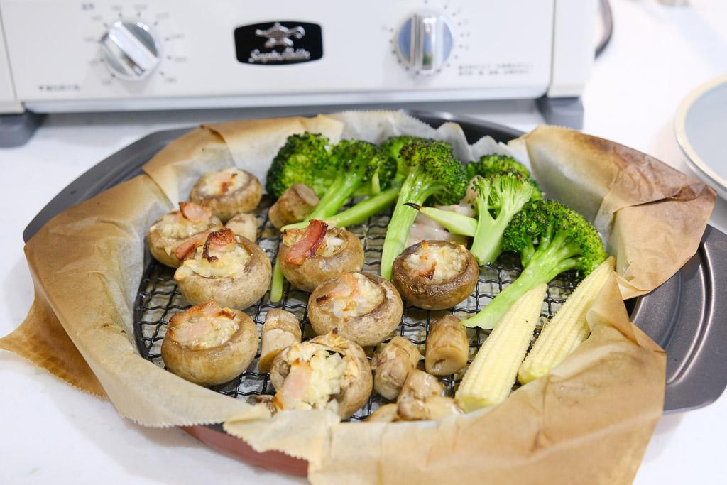 日本千石阿拉丁烤箱, 阿拉丁烤箱食譜, 阿拉丁料理, 風琴馬鈴薯, 烤時蔬