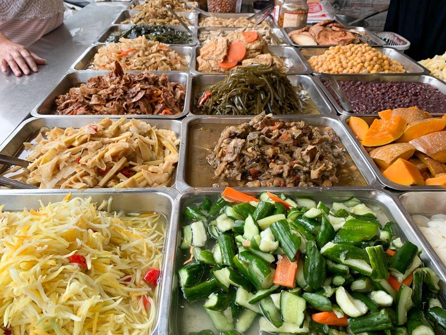 原文化路素食蕃薯簽粥, 嘉義清粥小菜, 嘉義素食, 嘉義自助餐, 嘉義小吃, 民生北路美食, 嘉義素食晚餐