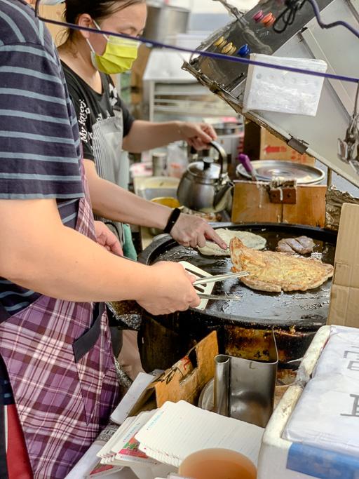 國語日報早餐店, 嘉義粉漿蛋餅, 嘉義古早味, 成仁街美食, 食尚玩家