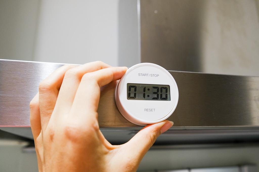 計時電子鐘白色, MUJI, 無印良品, 計時器, 廚房小物, 料理計時器, 倒數計時器, 廚房配件