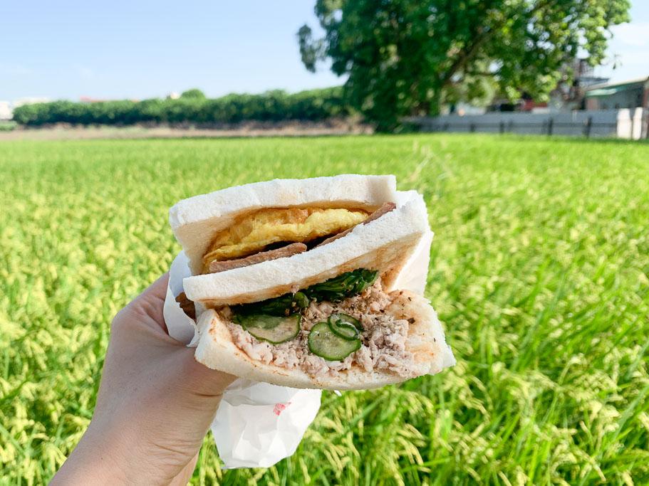 嘉義文化路碳烤三明治(早餐), 文化路早餐, 文化路美食, 嘉義美食, 炭烤三明治