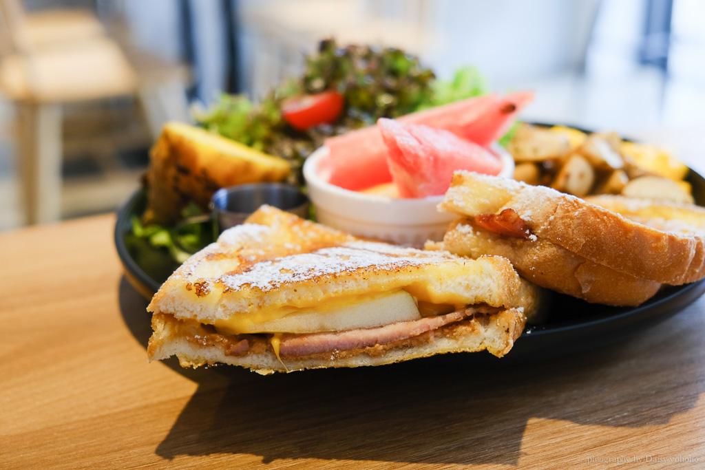 Twos 早 • 午食, 嘉義早午餐, 嘉義美食, 朝陽街美食, 嘉義早餐, 法式吐司, Two's Brunch Cafe
