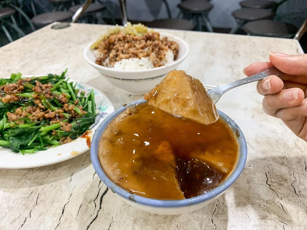 古都碗粿東門總店, 東門路美食, 台南碗粿, 台南小吃, 台南美食