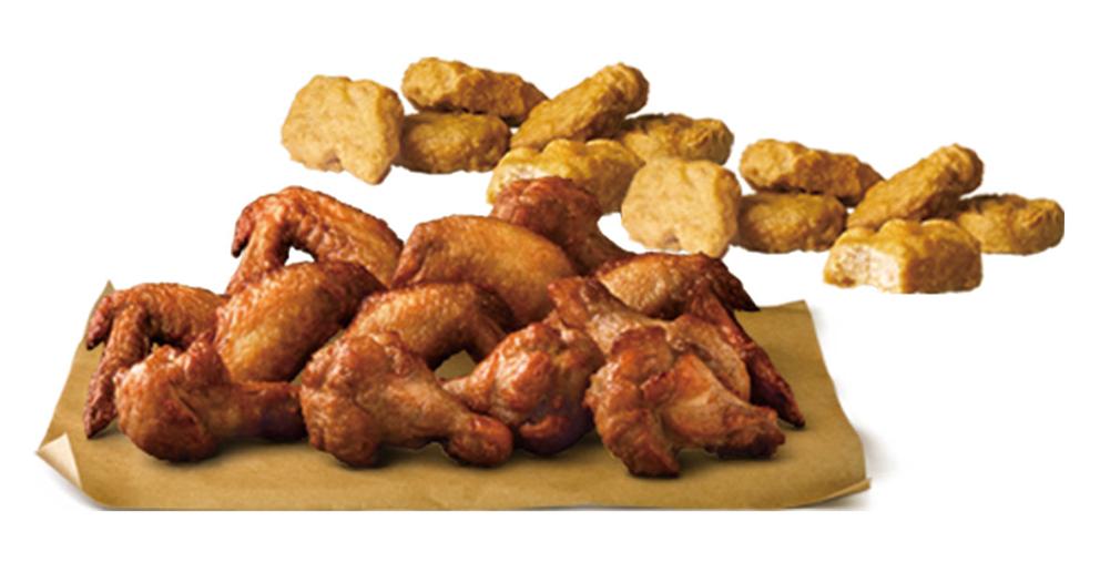 【麥當勞】獨家超值組-12塊雞翅送12塊麥克雞塊(即享券)