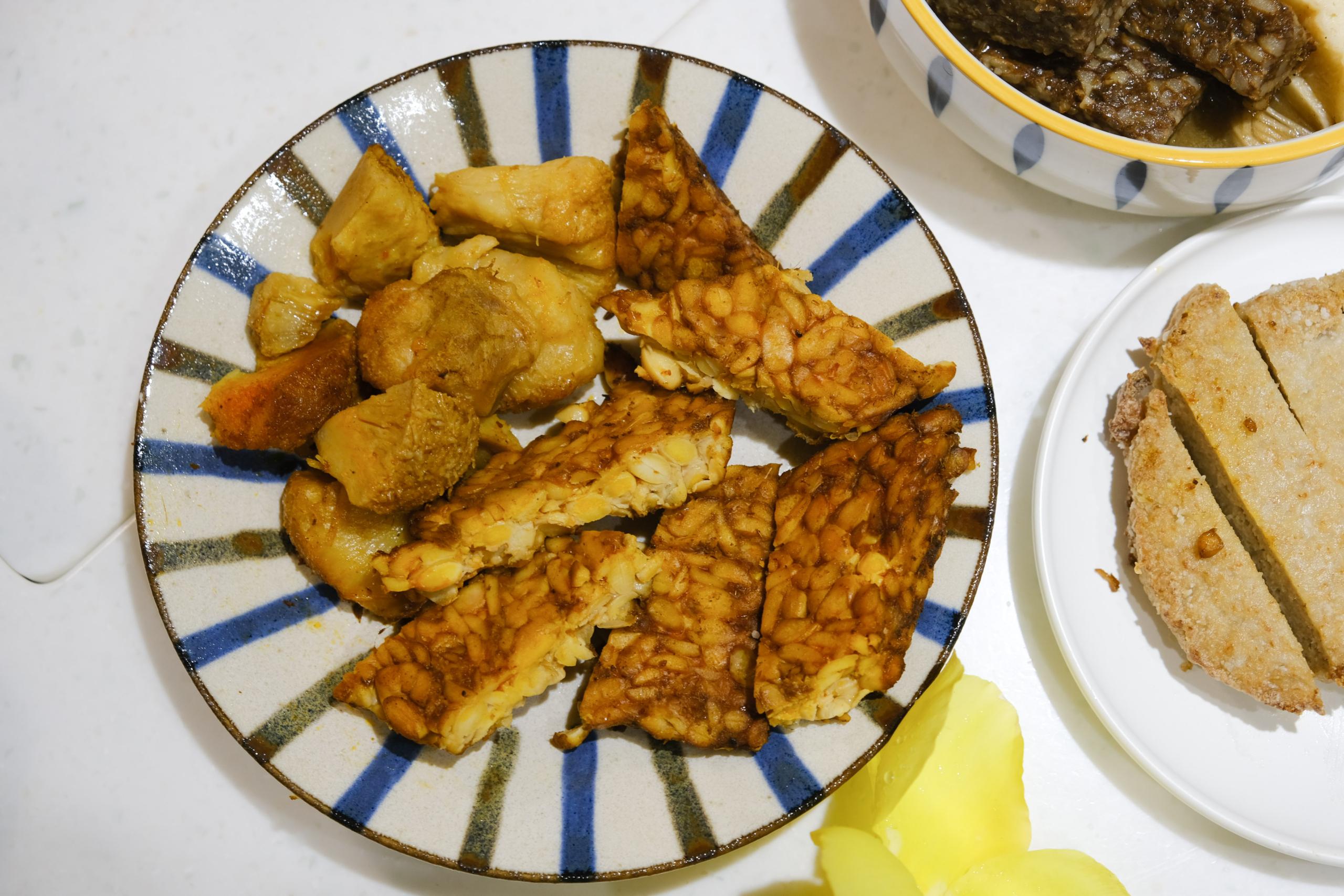 有夠g排, 冷凍素食, 樂福食代, 素米血, 素雞排, 天貝, 宅配素食