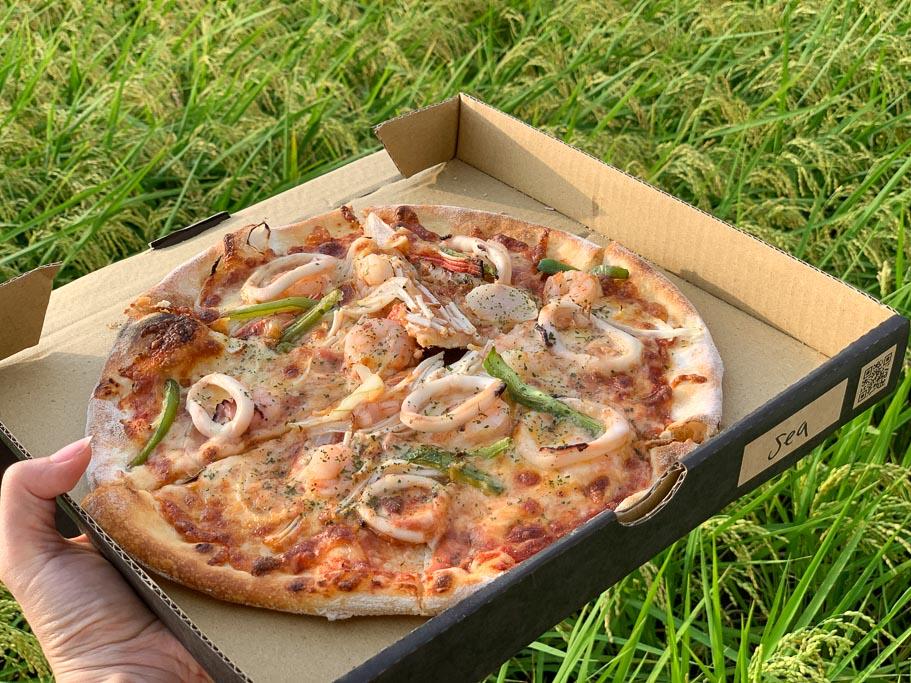 手在比薩, hand on the pizza, 嘉義披薩, 嘉義義式料理, 嘉義披薩外帶, 中正公園美食