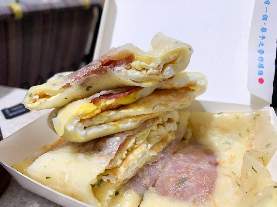 波里手作早午餐, Pori Brunch, 嘉義早午餐, 嘉義早餐, 芋泥肉鬆吐司, 培根蛋餅