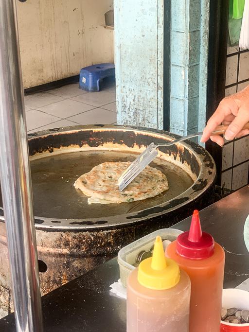 啞煎蔥油餅, 嘉義蔥油餅