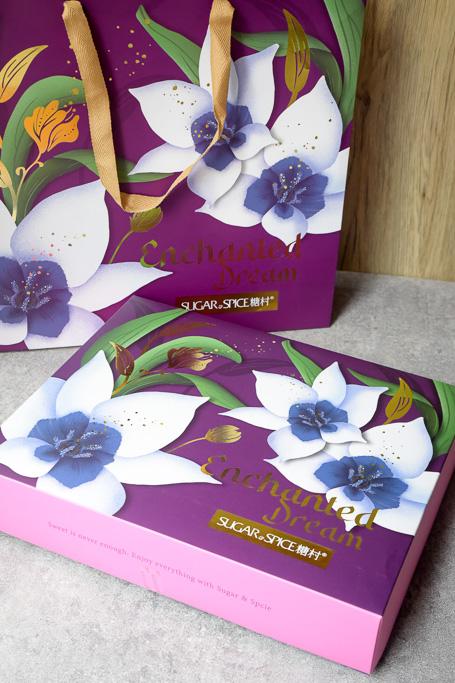 糖村中秋節禮盒,用點心過生活,夏威夷豆豆塔、太陽餅、法式牛軋糖