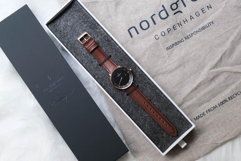Nordgreen 北歐極簡丹麥設計手錶,簡約卻不簡單,夏日百搭單品~送錶帶!
