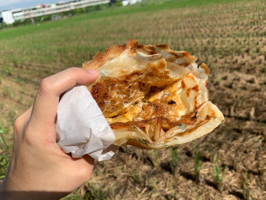 瀟湘園蔥油餅, 嘉義餡餅, 嘉義美食, 嘉義小吃, 手工現作蔥油餅, 豬肉餡餅, 嘉義和平路美食