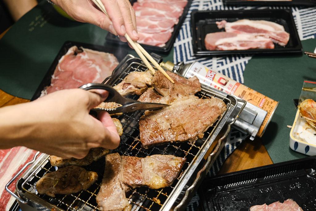 大初燒肉, 屏東燒肉, 宅配燒肉, 室內烤肉, 室內燒烤爐, 桌上型吸油煙機, 宅配美食