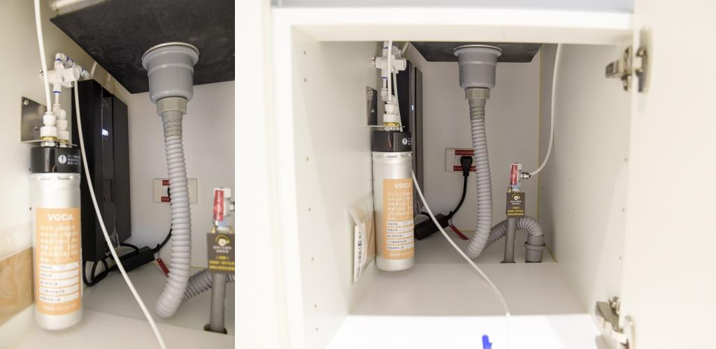 VOCA, VOCA瞬熱飲水機, 廚下式飲水機, VOCA濾芯更換, 飲水機推薦, 新家廚房家電
