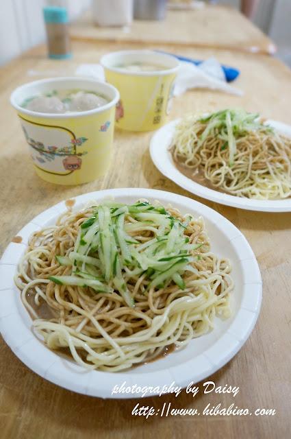 新店美食, 雪花軒涼麵, 新店涼麵, 台灣小吃, 台北平價小吃, 貢丸湯