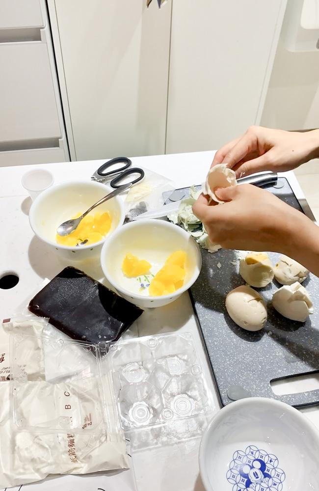 自己做烘焙聚樂部, 柴柴蛋黃酥, 中秋節, 自己做蛋黃酥, 蛋黃酥材料包, 甜點材料包, 懶人甜點材料