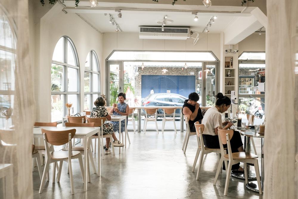 木木彡 mumushan.dessert,嘉義清新夢幻的純白咖啡廳!老宅咖啡廳