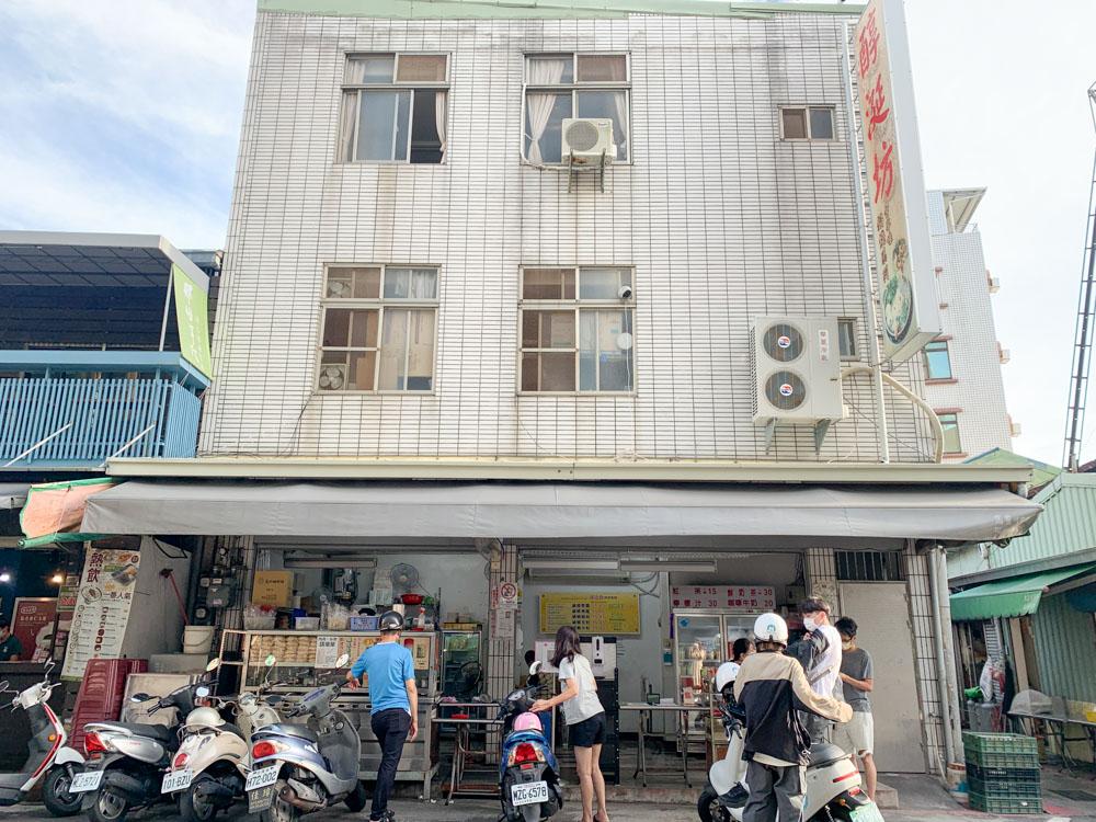 醇涎坊古早味鍋燒意麵,便宜又大碗的銅板美食!台南保安路小吃