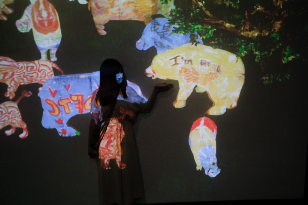 teamlab, 台北展覽, teamLab未來遊樂園&與花共生的動物們, 東京燈光秀, 台北燈光投射展, teamlab 票價, tamlab雙人套票優惠, 台灣teamlab
