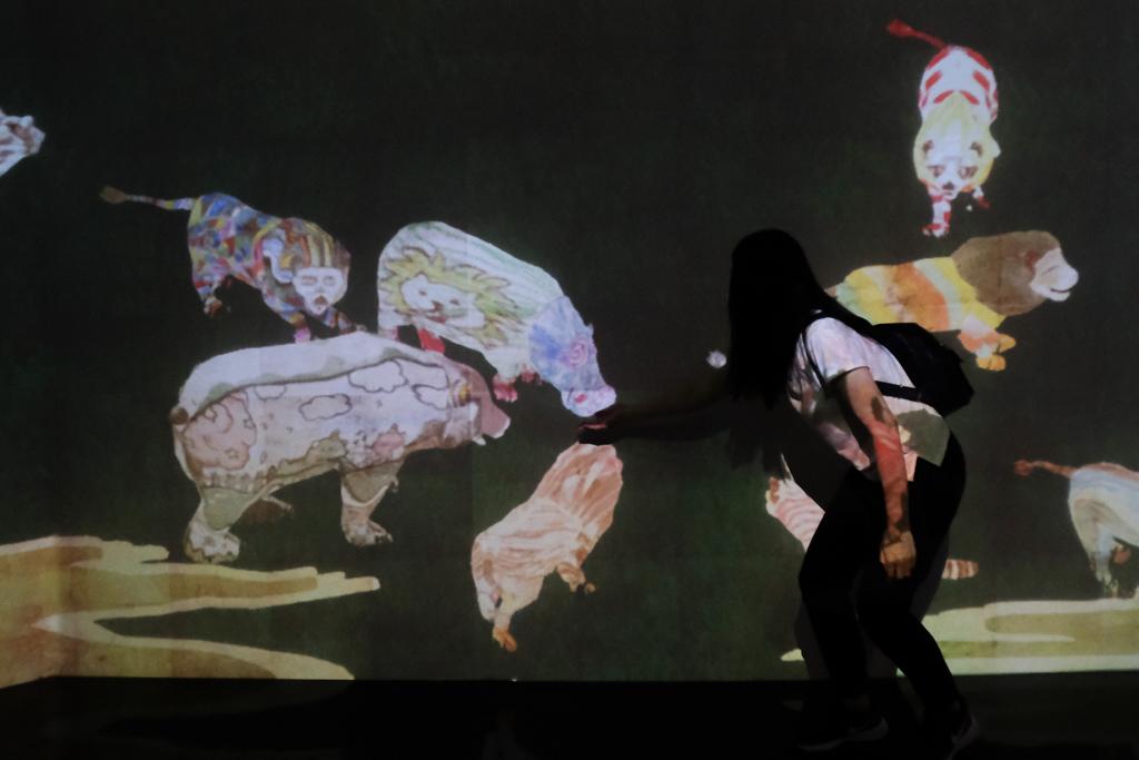teamLab《未來遊樂園&與花共生的動物們》 9大藝術數位互動區(門票優惠)